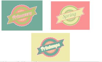 Spring Vintage Logos