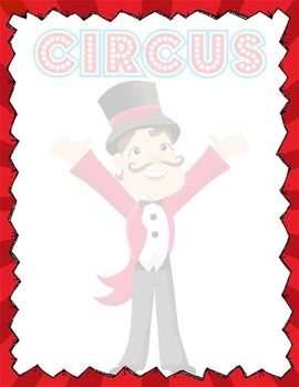 CIRCUS - Stationary and Note Cards (MS Word / editable)