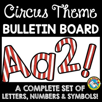 picture relating to Poster Board Letters Printable identify CIRCUS Topic CLASSROOM DECOR BULLETIN BOARD LETTERS PRINTABLE, Figures, And so forth