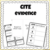 CITE Evidence Posters & Organizers