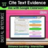CITE Textual EVIDENCE - Digital Version