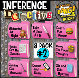 Summer School Activity Inference Mysteries (8-Pack Bundle #2)