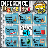 Making Inferences - Analyzing Multiple Texts Mysteries  (8-Pack Bundle #1)