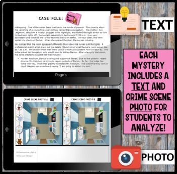 Inference Mystery-Analyze Multiple Texts to Cite and Support (Kidnap)