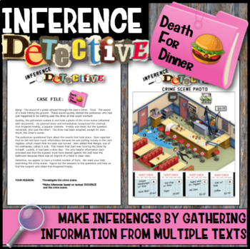Making Inferences -Analyze Multiple Texts  (Death for Dinner)