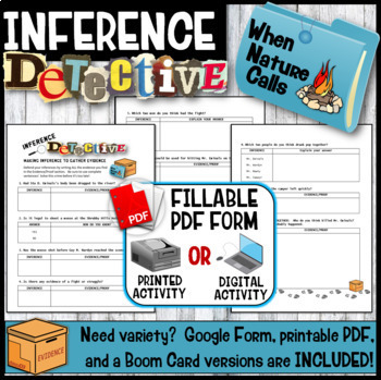 Inference Mystery-Analyze Multiple Texts to Cite and Support (Toasted Kitchen}