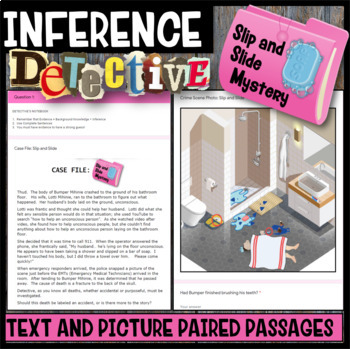 Making Inferences: Inference Detective (Slip and Slide Mystery)