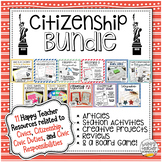 Civics: Citizenship & Civic Obligations Unit Bundle | 11 R