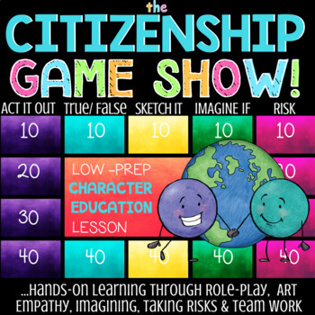 CITIZENSHIP: School Counseling Lesson on Being A Good Citizen & Community Member