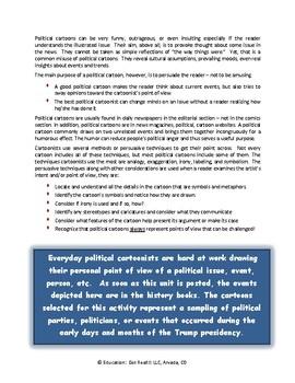 CIVICS – 2017 Political Cartoons Activities, 2nd Edition