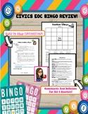 CIVICS EOC Review Bingo
