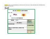 CIVICS: ESL FLASH CARDS: ENGLISH/ VIETNAMESE