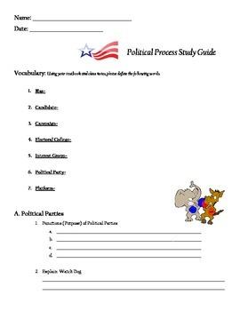 CIVICS - Political Process Study Guide