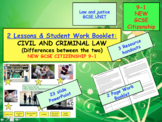 CIVIL AND CRIMINAL LAW GCSE CITIZENSHIP 9-1