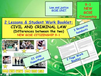 CIVIL AND CRIMINAL LAW GCSE CITIZENSHIP 9-1
