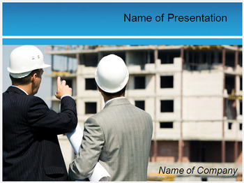 CIVIL ENGINEER POWERPOINT TEMPLATE