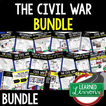 CIVIL WAR BUNDLE & SECTIONALISM (AMERICAN HISTORY BUNDLE)