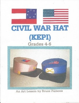 CIVIL WAR HAT (KEPI)