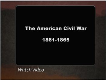 CIVIL WAR PPT Lesson 3: Timeline, Gettysburg, Lincoln, Emancipation Proclamation