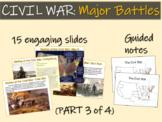 CIVIL WAR: MAJOR BATTLES (part 3 of 4) visuals, texts, gra
