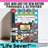 CIVIL WAR & More: 4th-5th Grade Social Studies INTERACTIVE
