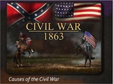 CIVIL WAR PPT Lesson 2:Causes of Civil War - Sectionalism,States' Rights,Slavery
