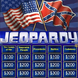 CIVIL WAR AND RECONSTRUCTION JEOPARDY