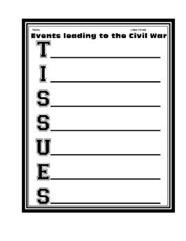 Accomplished image for civil war printable activities