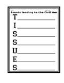 CIVIL WAR: TISSUES Worksheet/Activity/Printable