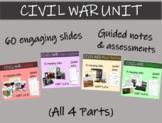 CIVIL WAR Unit: Highly visual, relevant texts, graphics & activities (63 slides)