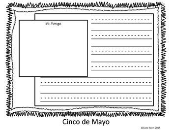 Cinco de Mayo Friendship Writing