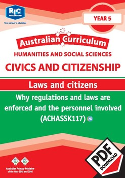 Civics and Citizenship: Laws and citizenship – Year 5