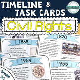 Civil Rights Timeline Task Cards