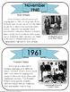 Civil Rights Timeline Task Cards