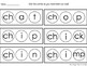 CK, CH, TH, SH Blend and Digraph Set