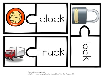 CK Digraph Puzzles- 30 Puzzles and Printables Included!