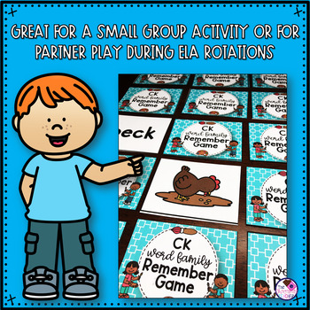 CK Digraph and Short Vowels Game Activity