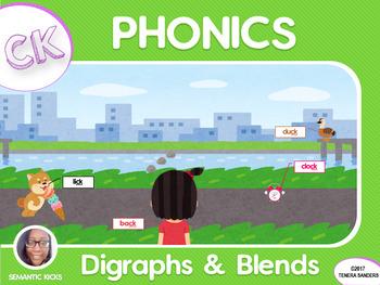 CK Digraphs Phonics Workbook (LOW PREP)
