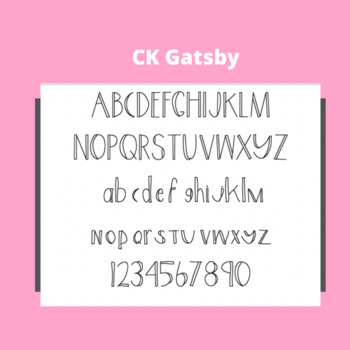 CK Gatsby