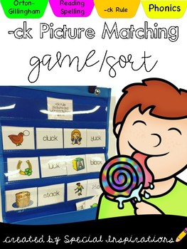CK Rule Picture and Word Matching Game