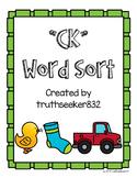 CK Word Sort