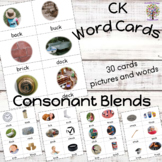 CK Word Work Cards Pictures and Words