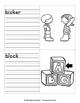 Word Work: CK Medial and Ending Sounds