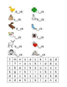 CK short vowel reading practice