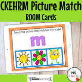 CKEHRM Initial Sound Picture Match Boom Cards Distance Learning