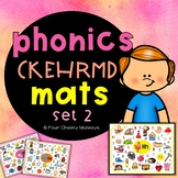 CKEHRMD alphabet phonics mats   Jolly Phonics activities