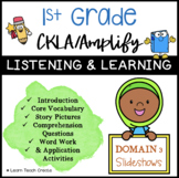 50% OFF FLASH SALE!! Grade 1 CKLA | Domain 3 | Listening a