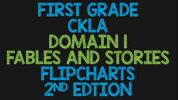 CKLA 1st Grade Domain 1 Flipchart Bundle