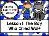 CKLA 1st Grade D1L1: The Boy Who Cried Wolf Flipchart