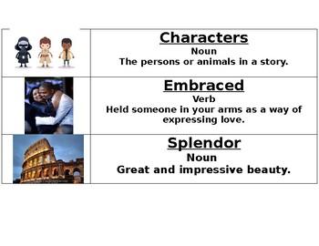 CKLA 1st Grade Domain 3 Vocabulary